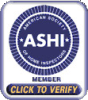 American Society of Home Inspectors - Click to verify